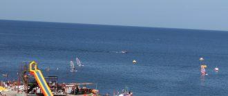 лучшие курорты Крыма, Крым, отдых в Крыму, море, пляж, аквапарк