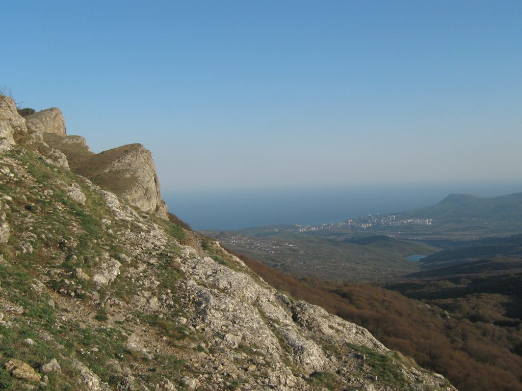 Крым, горы, скалы, виды Крыма, лето